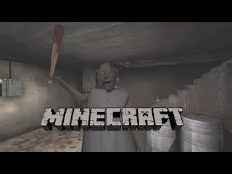 GRANNY IS TRYING TO KILL ME!! Minecraft W/ Sharky