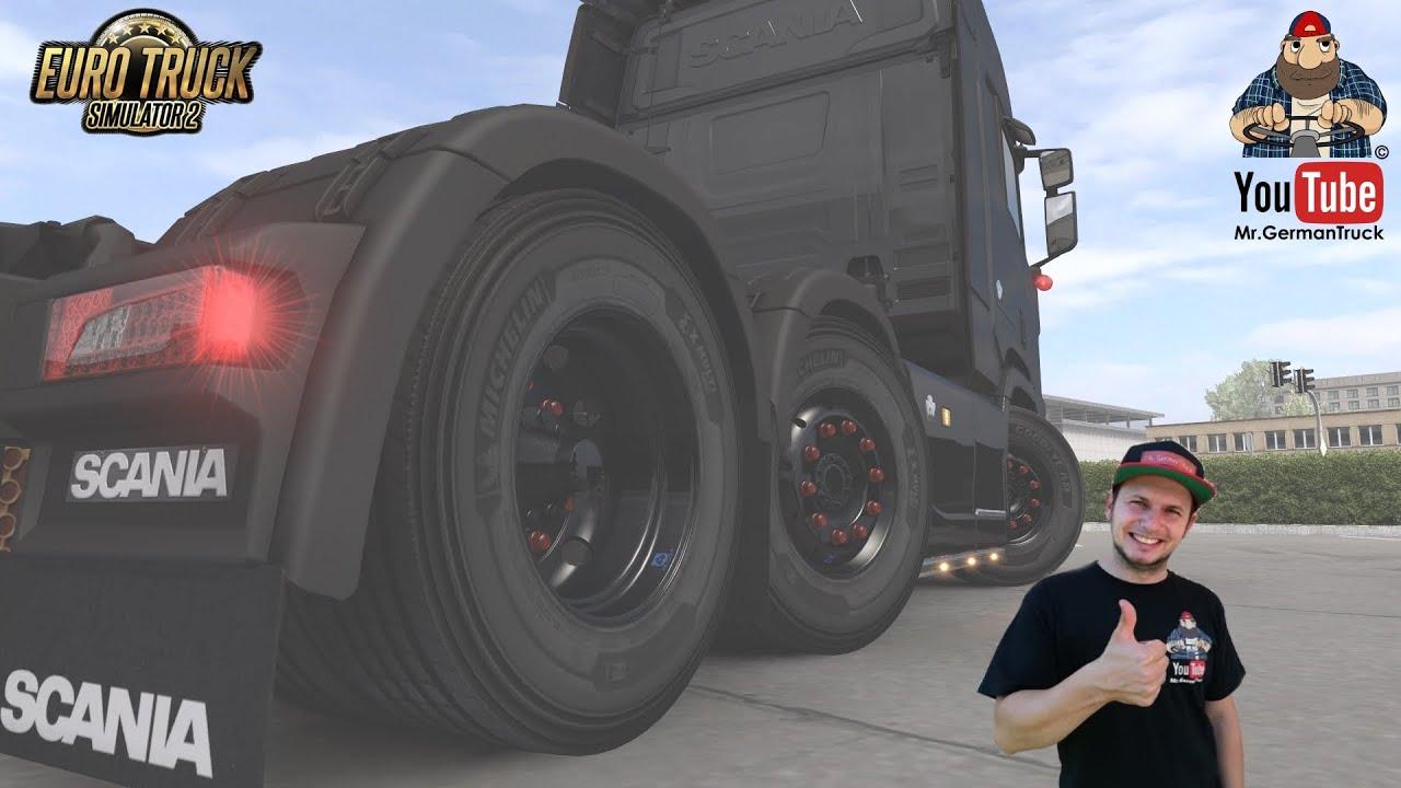 [ETS2 v1.38] 50k Wheels Pack *New Update*