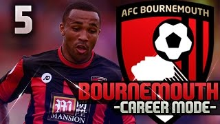 fifa 16 bournemouth career mode 5 huge games vs man city spurs