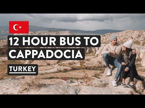 The Journey: ISTANBUL TO CAPPADOCIA BUS | Turkey Travel Vlog | Travel Talk Tours #1