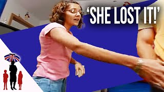 Strict Mom Yells At Dad Helping Daughters With Chores | Supernanny