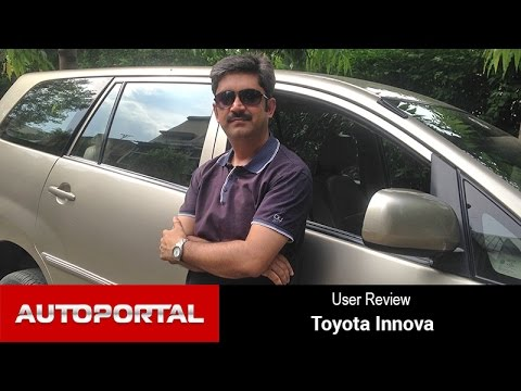 Toyota Innova User Review 'true value for money' - Autoportal