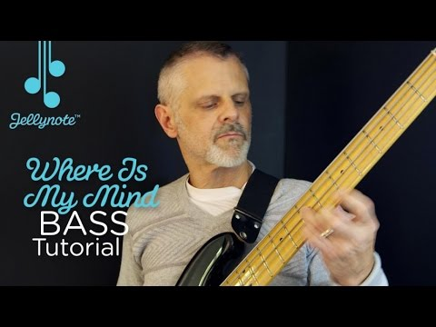 Where Is My Mind By The Pixies 8th Notes Beginner Bass Tutorial