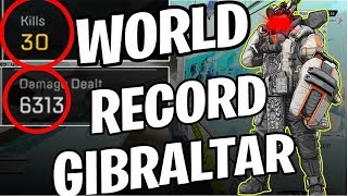 30 KILLS SOLO & 6K DAMAGE Apex Legends NEW WORLD RECORD HOLDER