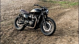 Triumph Bonneville T120 Black Custom