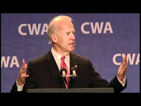 Vice President Joe Biden: 2012 CWA Legislative-Political Conference