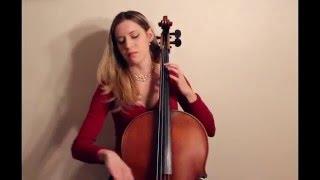 J.S. Bach - Cello Suite no. 1 in G major, BWV 1007, Sarabande, on baroque cello