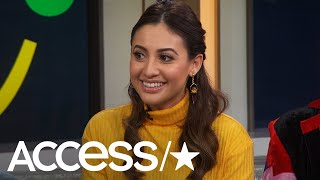 """grown-ish"" stars francia raisa and chloe x halle bailey join access live's natalie morales kit hoover gives a health update after donating h..."
