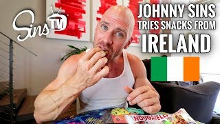 Tasting Snacks From Ireland || Johnny Sins Vlog #70 || SinsTV