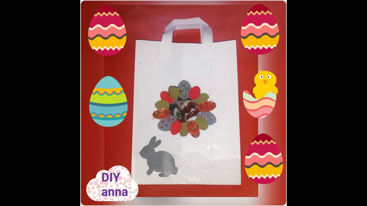 Easter paper gift bag decorations bunny eggs diy craft ideas easter paper gift bag decorations bunny eggs diy craft ideas tutorial uradi sam negle Gallery