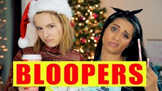 BLOOPERS: The Three Fails of Christmas (ft. Bridgit Mendler)