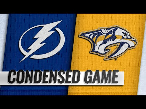 11/19/18 Condensed Game: Lightning @ Predators