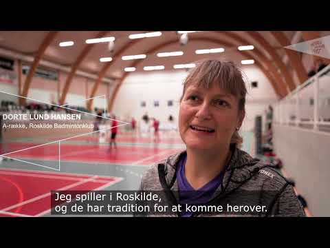 DM Senior+ Badminton er for alle seniorspillere i badminton
