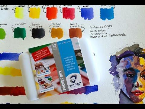 van gogh watercolors youtube