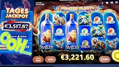 BIGWIN/HighWIN Casino Slot Pirates Plenty Verrückte Freispiele auf 4€ Best Slots 2020 KiNGLUcky68