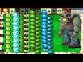 Plants vs Zombies - 99 Gatling Pea vs Winter Melon vs 999 Zombies