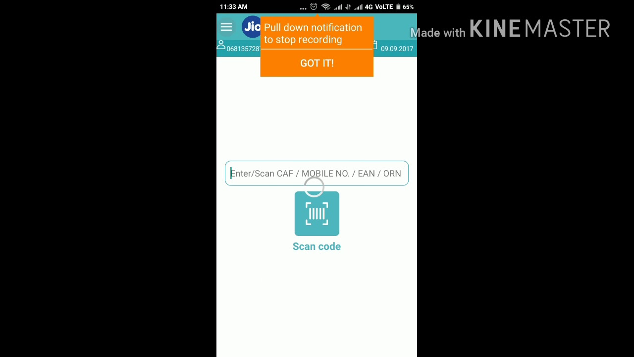 how to activate jio sim in new mobile