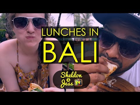 What to Eat When You Travel in Bali - Lunches with Sheldon & Jess TV