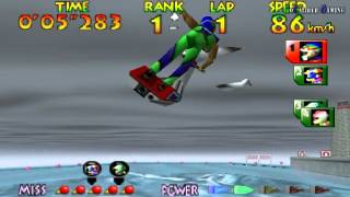 Wave Race 64 - Championship Mode (Hard) - R. Hayami
