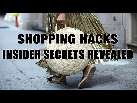 SHOPPING HACKS EVERY FASHION GIRL NEEDS!!