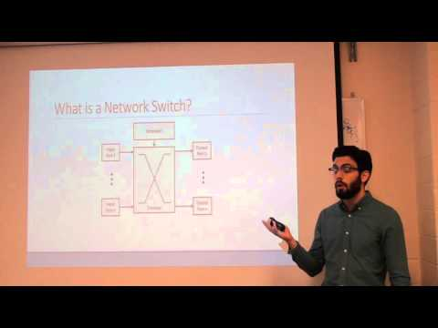 Building Networking Applications from a NoC-Enhanced FPGA
