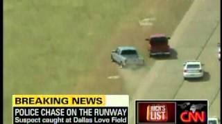 Schnittshow.com: Police chase Love Field airport