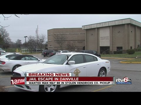 Inmate escapes from Hendricks Co. Jail