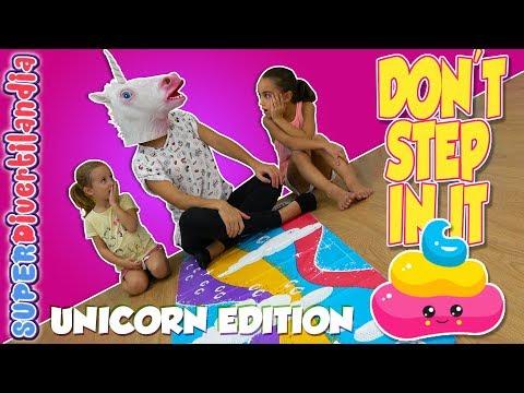🦄 EDICIÓN UNICORNIO 💩 Dont step in it! Unicorn en SUPERDivertilandia.