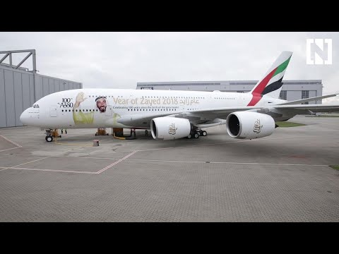 Emirates receives its 100th A380