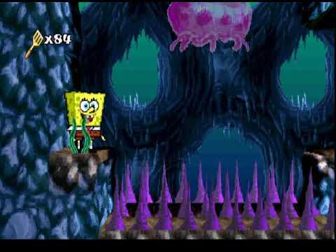 SpongeBob SquarePants SuperSponge (PSX) (Part 6/25) Cavernous Canyons