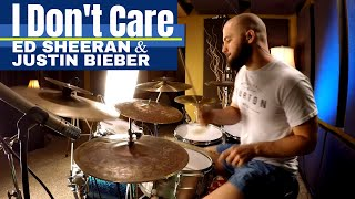 Ed Sheeran & Justin Bieber - I Don't Care Drum Cover (High Quality Audio) ⚫⚫⚫