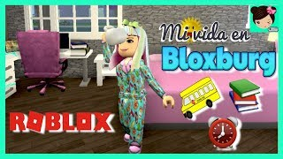 my routine of school morning in Bloxburg - Roblox High School Roleplay - Titi games