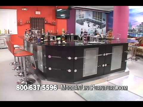 Modern Line Furniture Com Exclusive Custom Vip Bar Overview Youtube