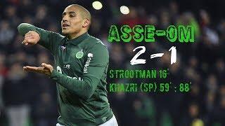 AS Saint-Etienne - Olympique de Marseille 2-1 Le Résumé