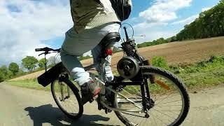 Motoriser un velo avec un moteur de solex