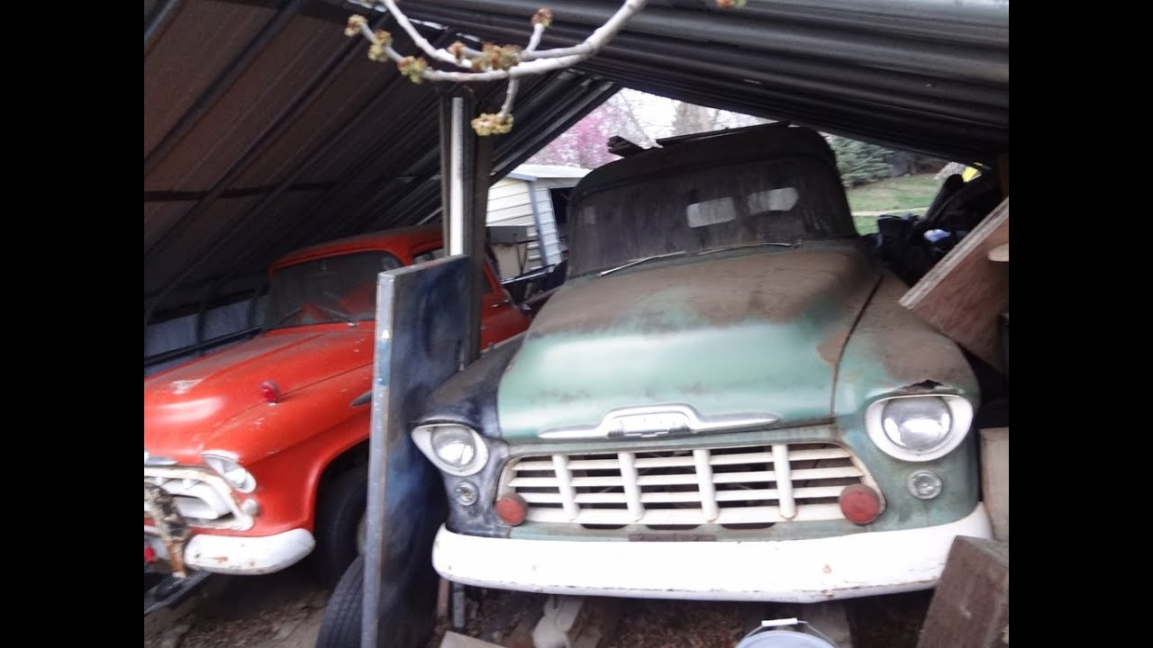 Napco Shed Find 1956 Chevy Suburban 4x4 Amp 1957 Chevy
