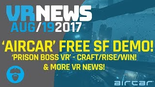 CRAFT/TRADE/KINGPIN YOUR WAY TO TOP IN PRISON BOSS VR!!! – Aircar, Gorgeous free SF Demo