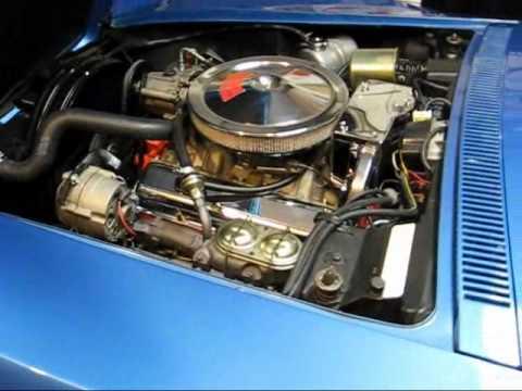 327/350hp Corvette Motor