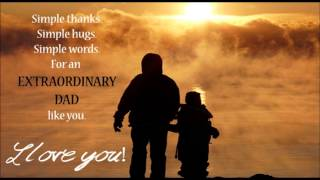 Father's day SMS message, wishes, Greetings for dad | Happy Father's day video card