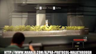 Alpha Protocol Walkthrough - Prologue Part 1
