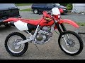 Honda XR400 exhaust sound and fly by compilation