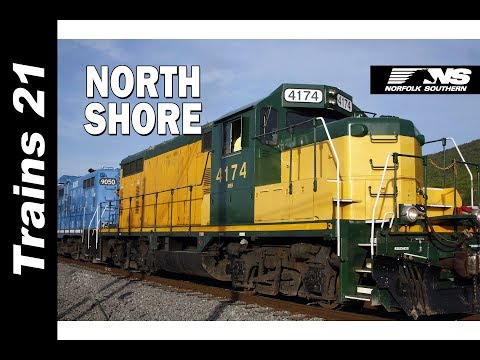 Exploring The Norfolk Southern Buffalo Line And The NORTH SHORE RR around Williamsport PA