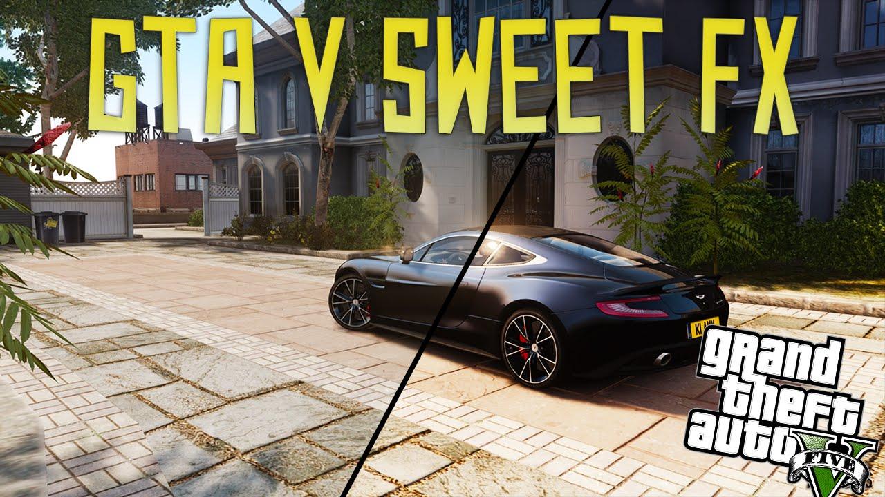 Gta 5 Pc Sweetfx Comparison Youtube - Imagez co