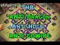 EPIC TH8 Anti Dragons & Anti-GoWiPe War Base Attack Replays