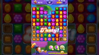 Candy Crush Friends Saga Level 198 (3 stars, No boosters)