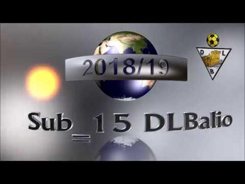 Sub_15 DLBalio Vs Folgosa Maia 2018/19