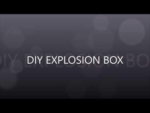 EXPLOSION BOX [Best out of waste] Raksha bandhan special...