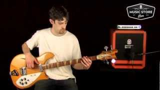1967 Rickenbacker 4005 Bass Tone Review and Demo