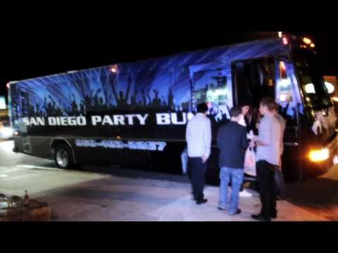 SAN DIEGO PARTY BUSES PROMO VIDEO