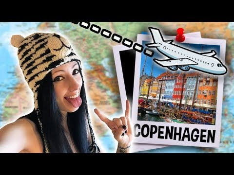 LETS GO TO COPENHAGEN! | Travel Vlog